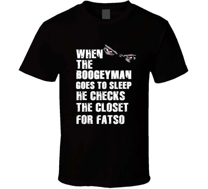 Boogeyman Fatso Art Donovan Sports Football Player Nickname T Shirt