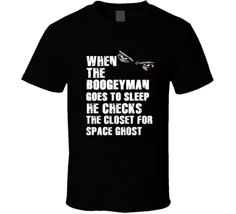Boogeyman Space Ghost Dave Casper Sports Football Player Nickname T Shirt