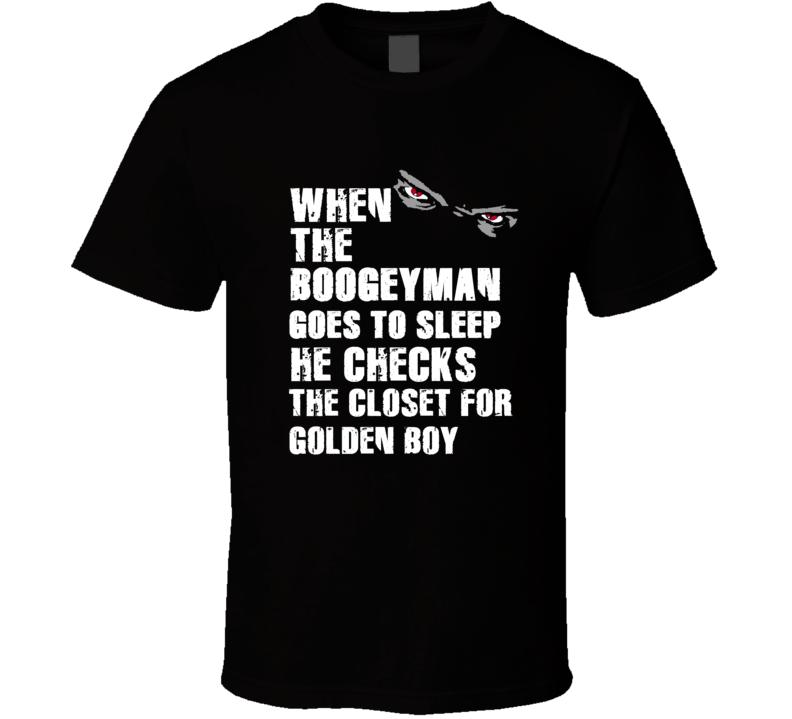 Boogeyman Golden Boy Paul Hornung Sports Football Player Nickname T Shirt
