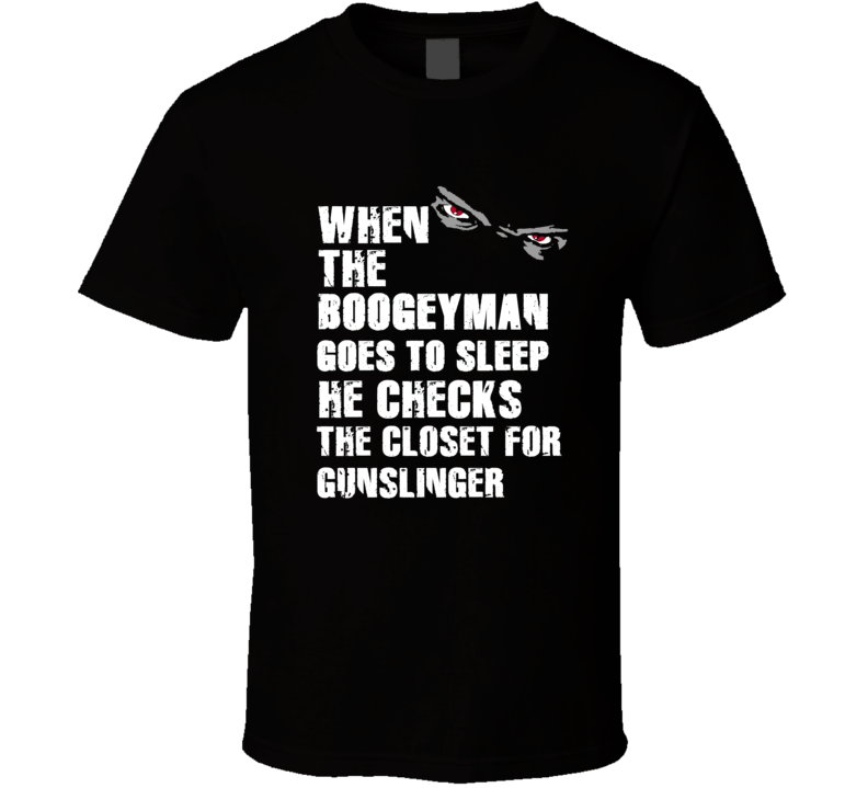 Boogeyman Gunslinger Brett Favre Sports Football Player Nickname T Shirt