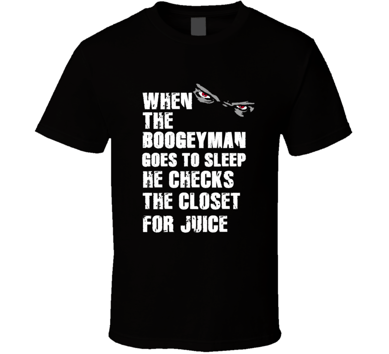 Boogeyman Juice O. J. Simpson Sports Football Player Nickname T Shirt