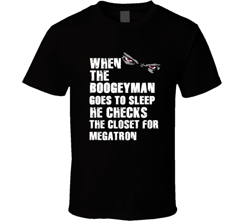 Boogeyman Megatron Calvin Johnson Sports Football Player Nickname T Shirt