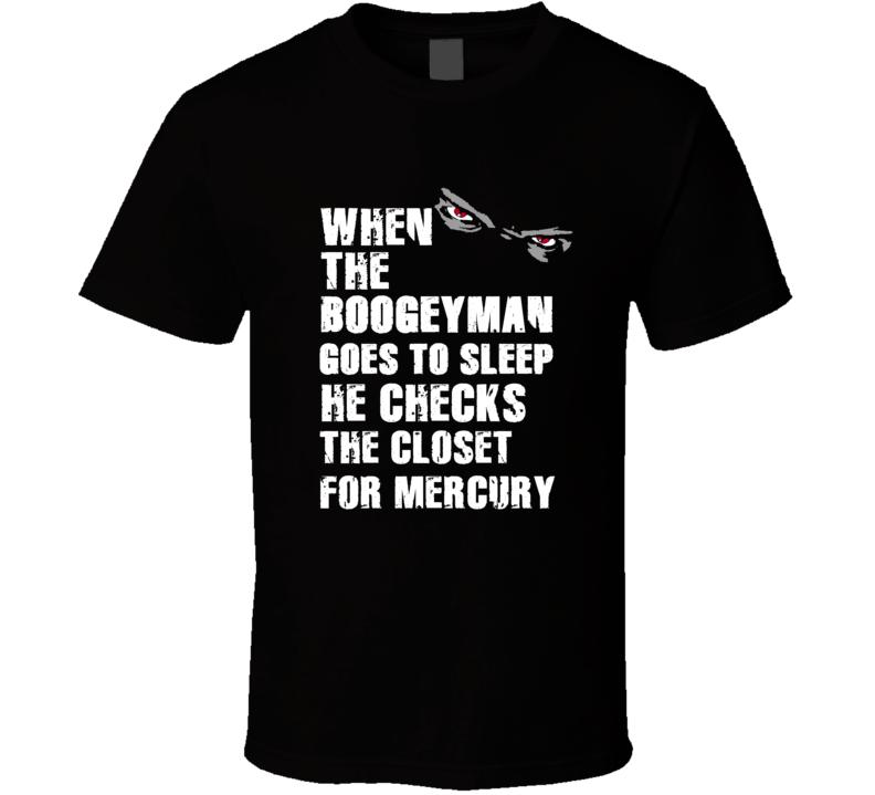 Boogeyman Mercury Eugene Morris Sports Football Player Nickname T Shirt