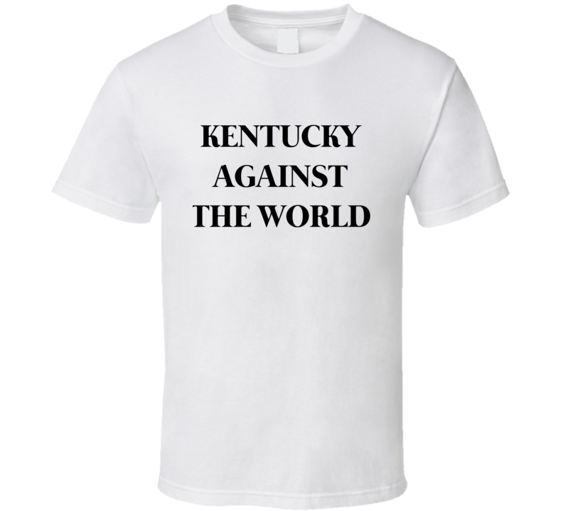 Jennifer Lawrence Inspired Celebrity Style Kentucky Against The World T Shirt