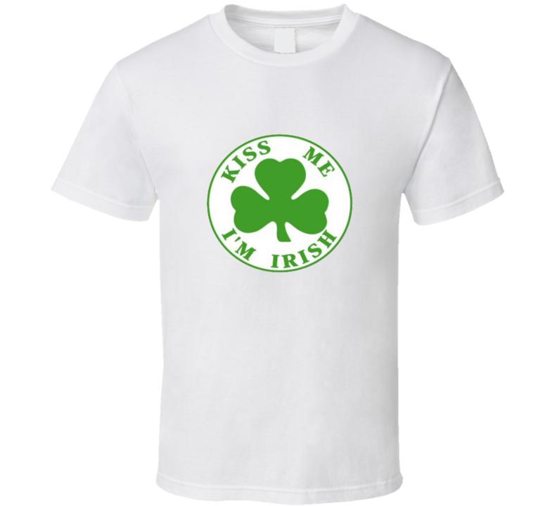 St Patricks Day Kiss Me Im Irish T Shirt
