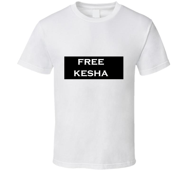 Free Kesha Celebrity Style T Shirt