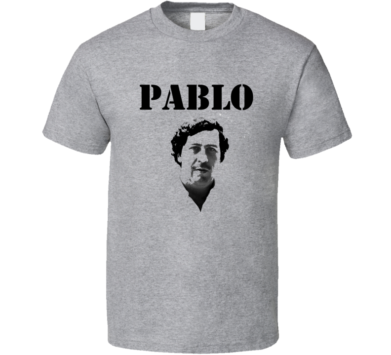 Pablo Escobar Columbia Narcos Inspired T shirt