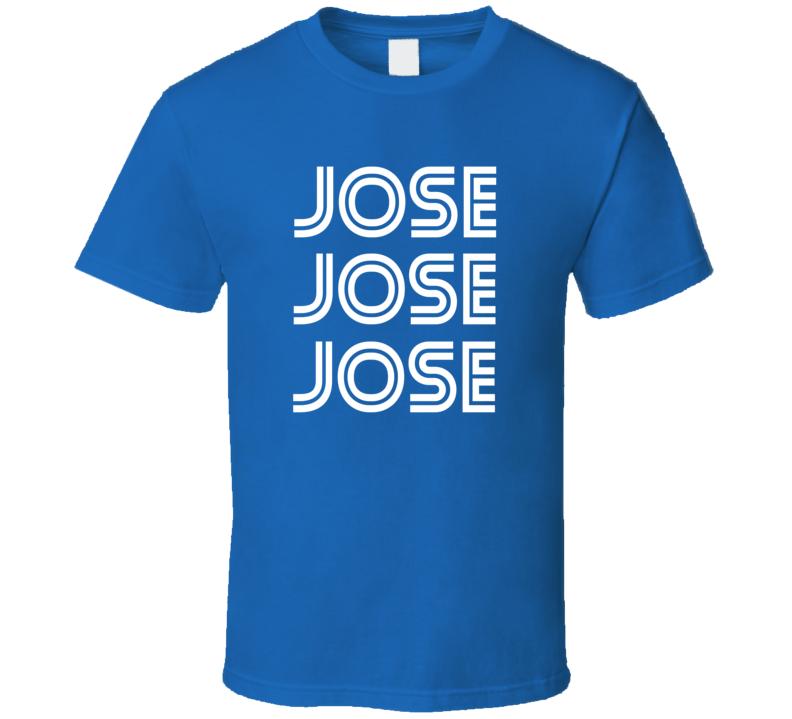 Jose Bautista Inspired Toronto Baseball Tshirt