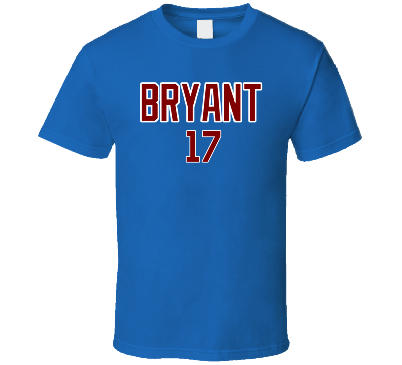 Kris Bryant Inspired Chicago Baseball Tshirt