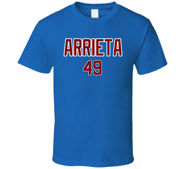 Jake Arrieta Inspired Chicago Baseball Tshirt