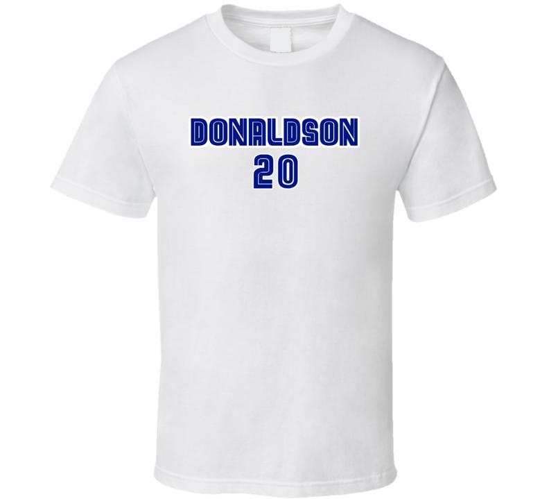 Josh Donaldson Inspired Toronto Baseball Tshirt