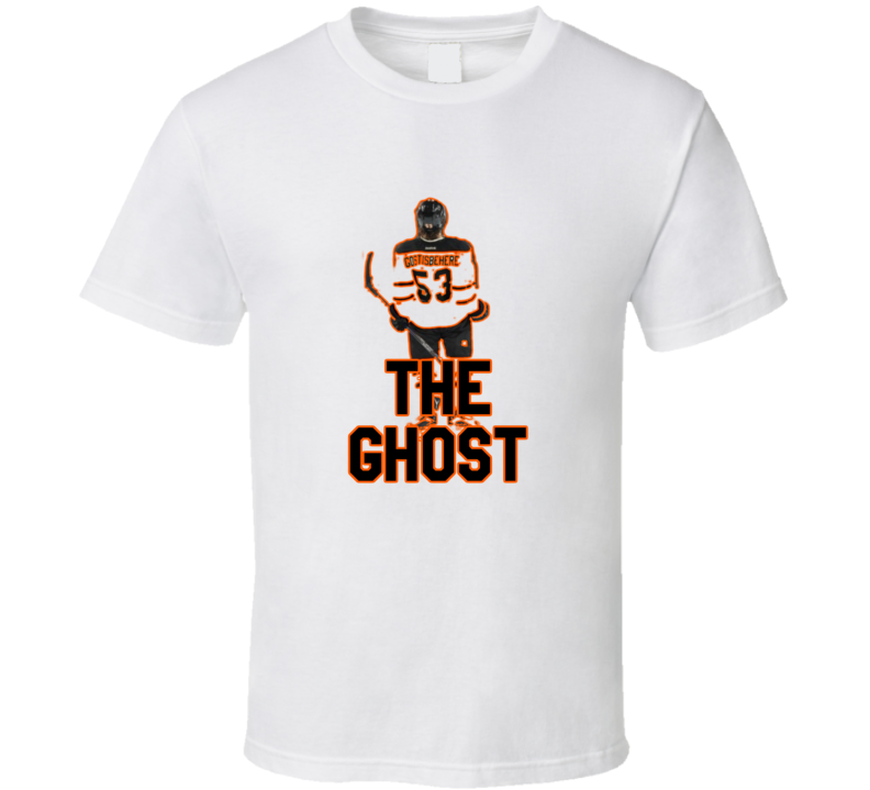 Shayne Gostisbehere Fan Philadelphia Hockey The Ghost Tshirt