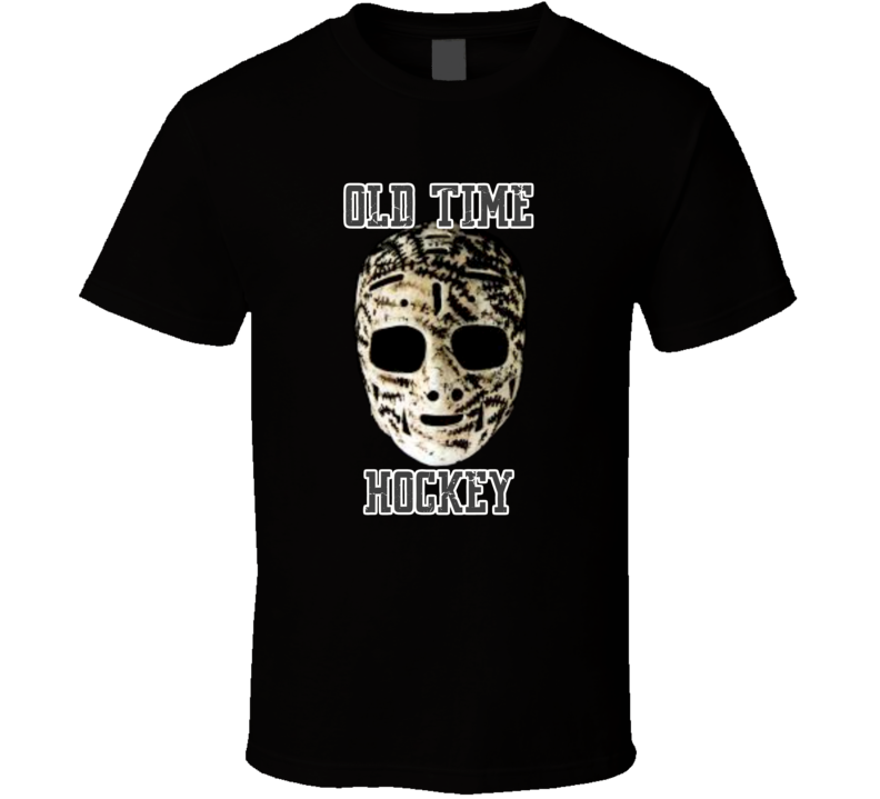 Gerry Cheevers Inspired Mask Old Time Hockey Tshirt