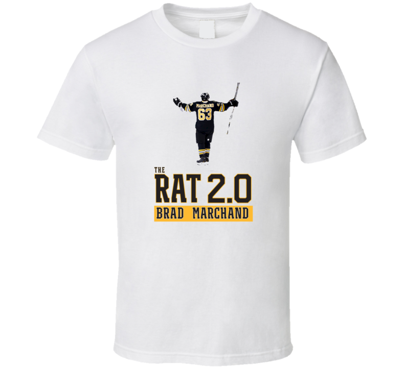 Brad Marchand The Rat Boston Hockey Tshirt