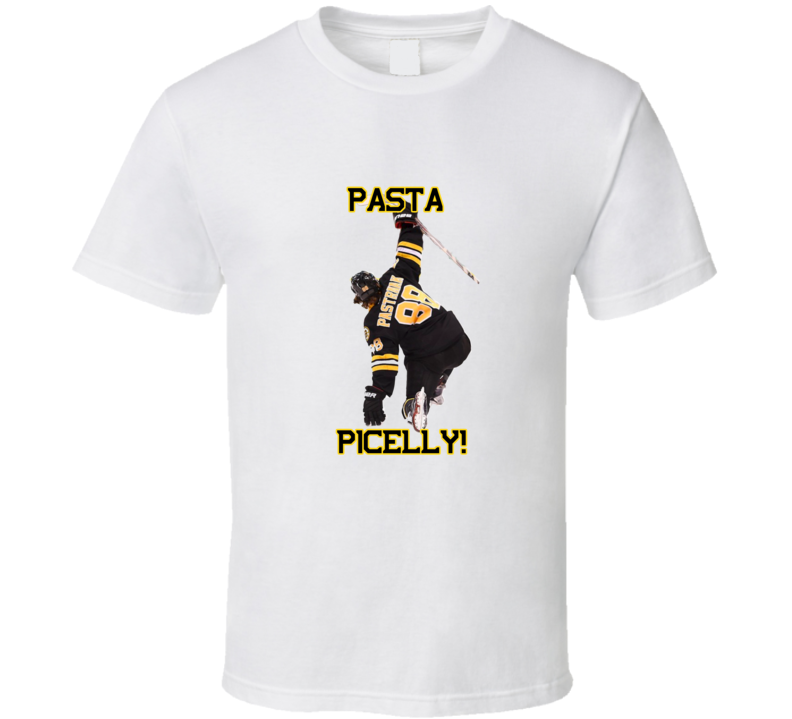 David Pastrnak Boston Hockey Goal Celebration Tshirt