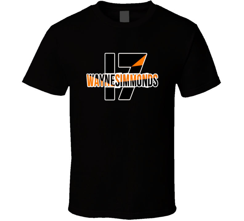 Wayne Simmonds Philadelphia Hockey Fan Tshirt