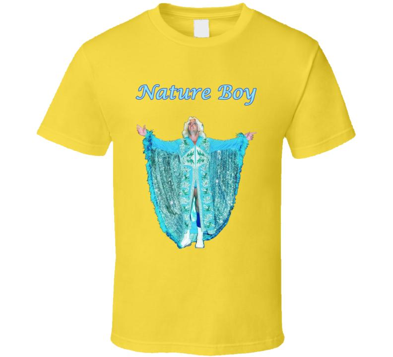 Ric Flair Nature Boy Wrestling Daisy Fan Tshirt