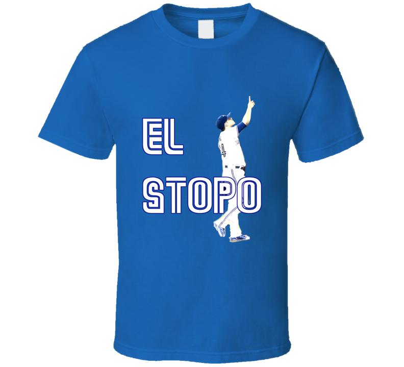 Roberto Osuna Toronto Baseball El Stopo Tshirt
