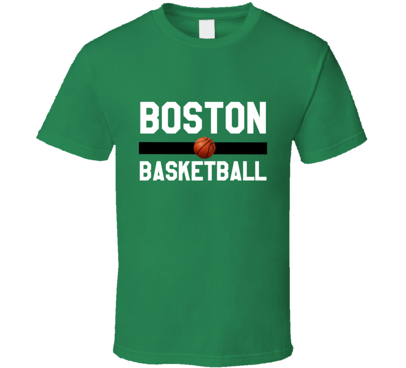 Boston Basketball On Court Ultimate TShirt
