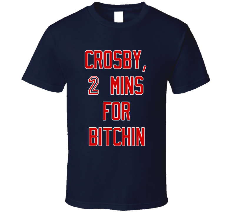 New York Playoff Hockey Crosby Bitchin Fan Tshirt