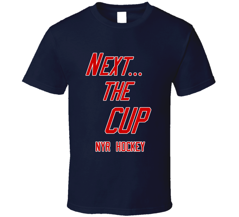 New York Playoff Hockey Next The Cup Fan Tshirt