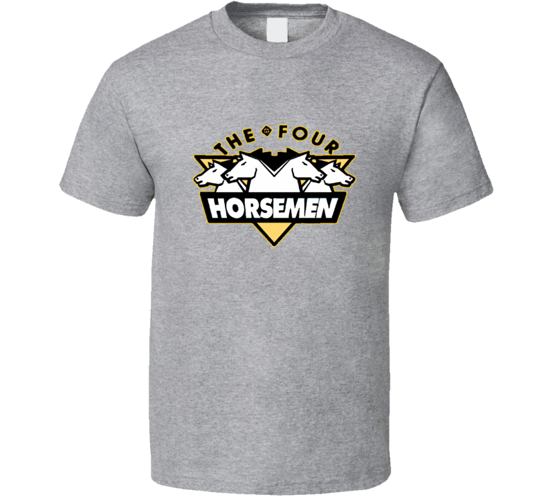 The Four Horsemen NWA WCW Wrestling Fan Tshirt