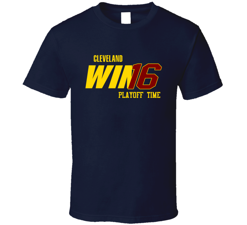 Cleveland Playoff Basketball Win 16 Fan Tshirt