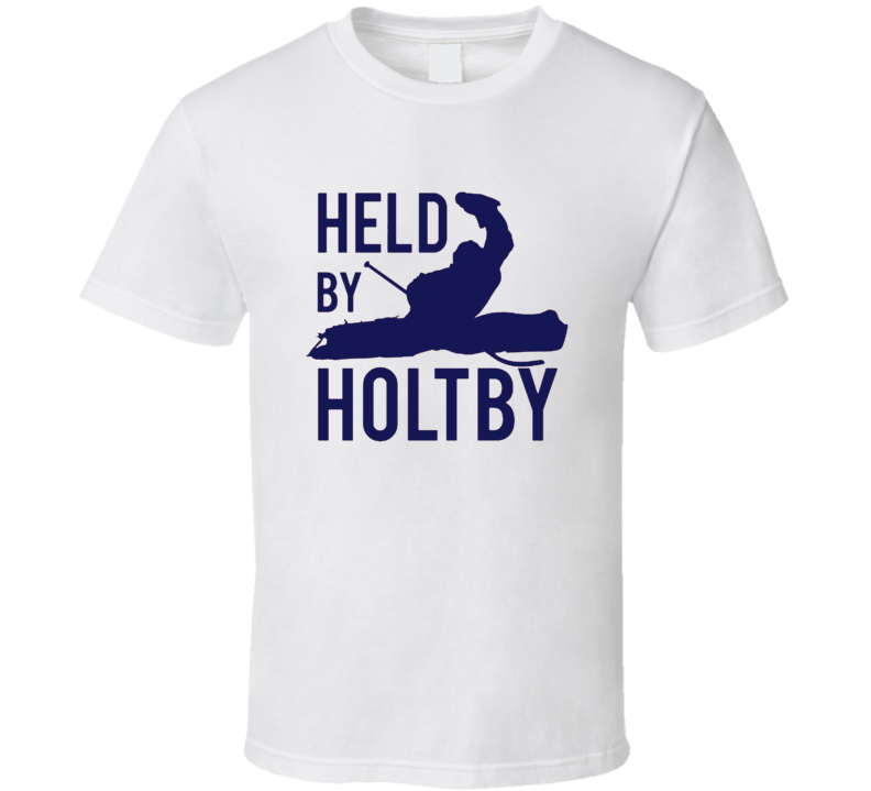 Held By Holtby Washington Hockey Braden Holtby Fan Tshirt
