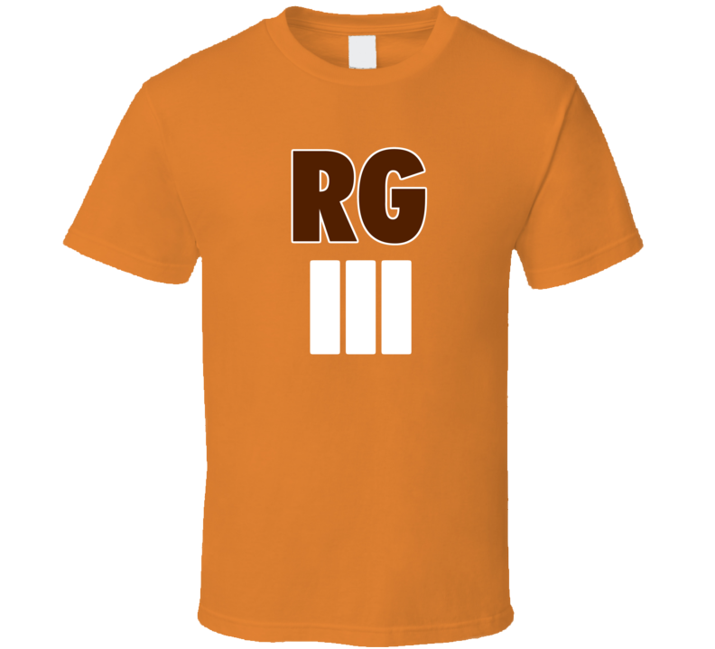 Robert Griffin III Cleveland Football Brown Fan Tshirt