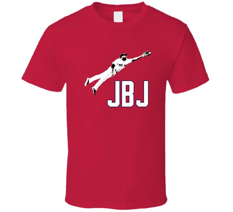 Jackie Bradley Jr. Boston Baseball Fan Tshirt