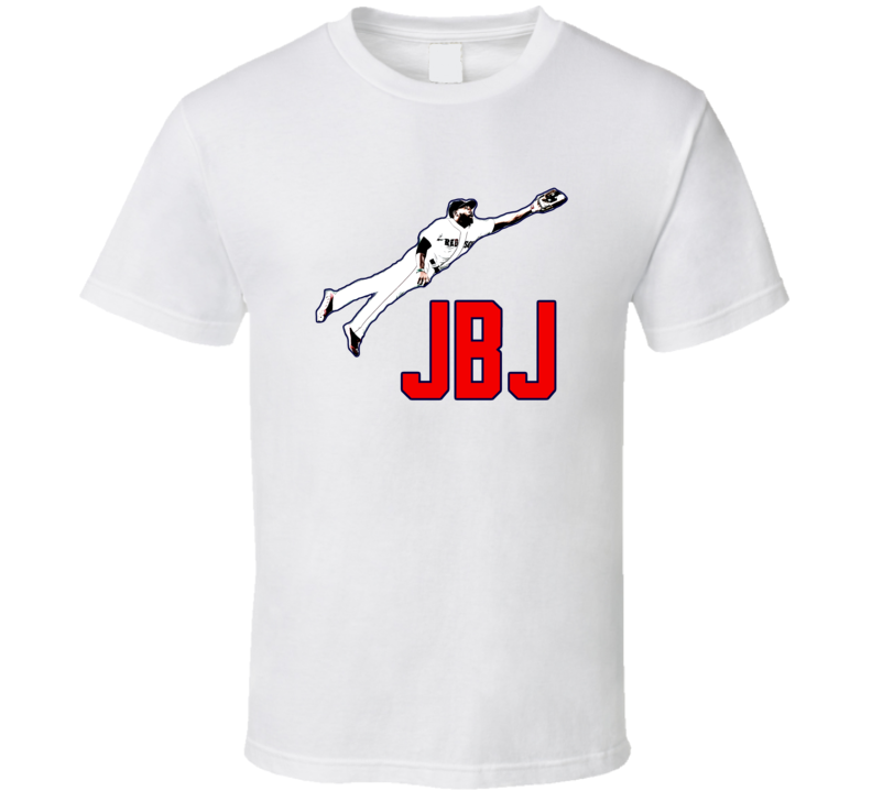 Jackie Bradley Jr. Boston Baseball Fan Tshirt
