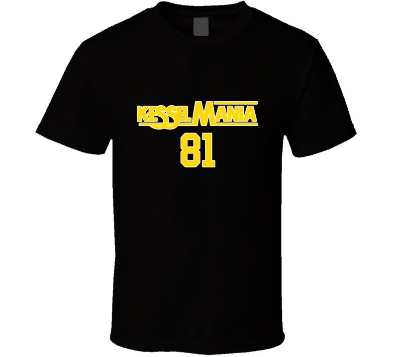 KesselMania Phil Kessel Pittsburgh Fan Hockey Black Tshirt