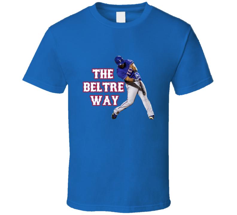 Adrian Beltre Texas Baseball The Beltre Way Fan Tshirt