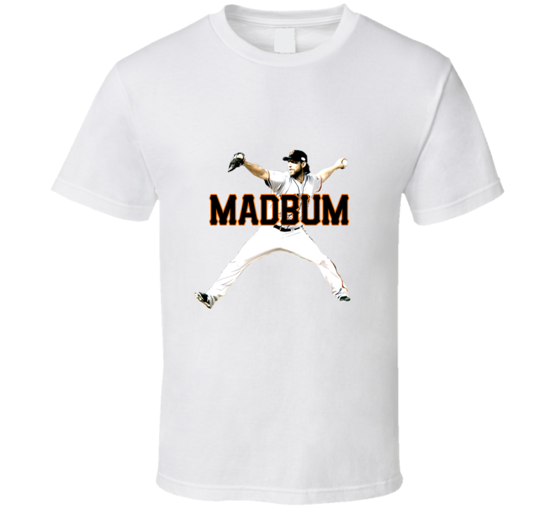 Madison Bumgarner San Francisco Baseball Madbum Fan Tshirt
