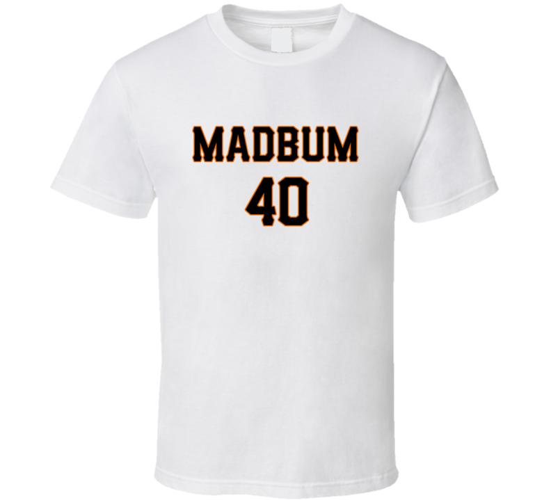 Madison Bumgarner San Francisco Baseball Madbum Fan Tshirt