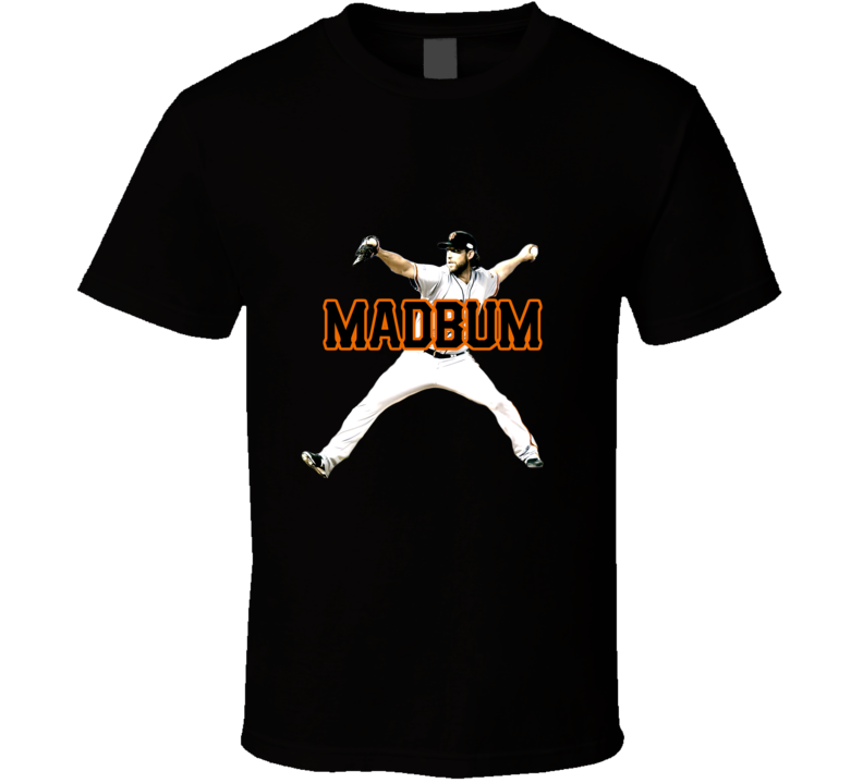 Madison Bumgarner San Francisco Baseball Madbum Fan Black Tshirt