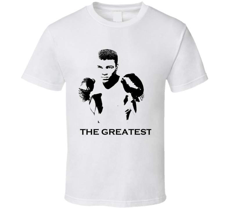 Mohamed Ali Inspired The Greatest Fan Tshirt