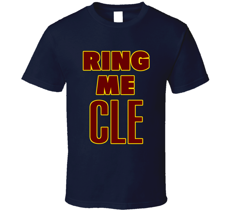 Cleveland Basketball 2016 World Champions Ring Me Fan Tshirt