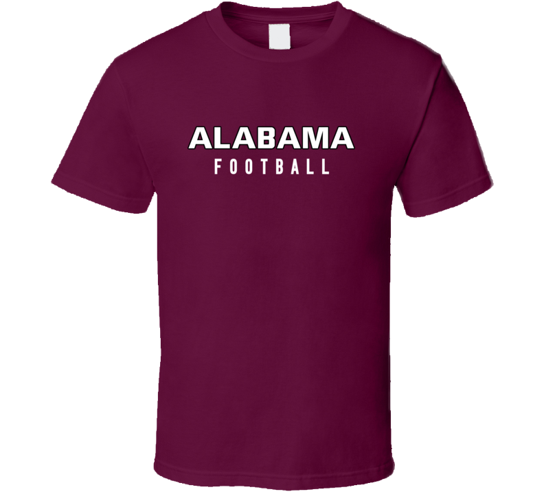 Alabama College Football Fan Tshirt