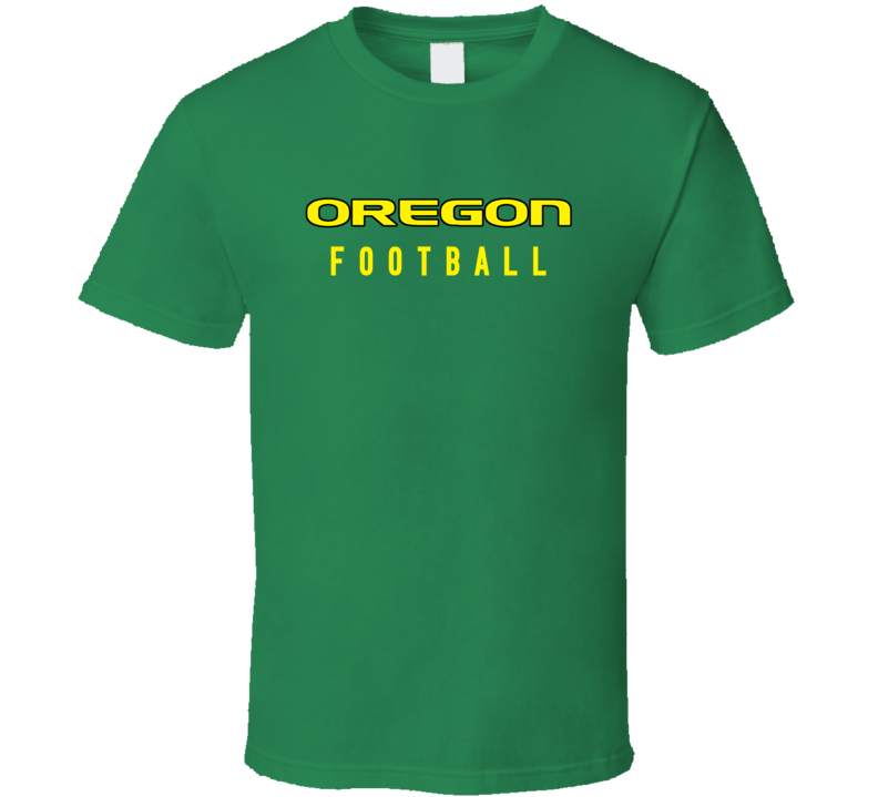 Oregon College Football Fan Tshirt