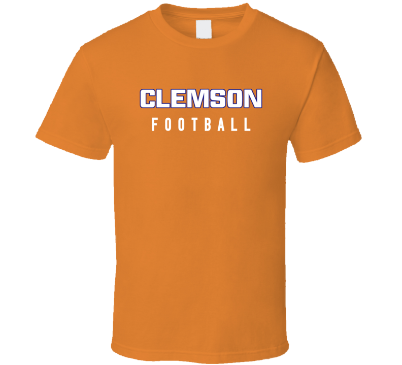 Clemson College Football Fan Tshirt
