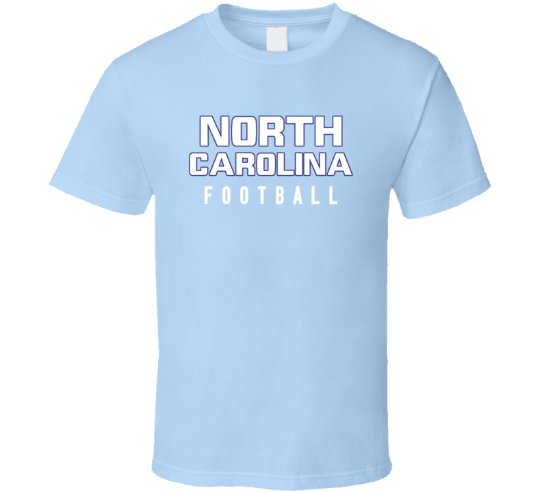 North Carolina College Football Fan Tshirt