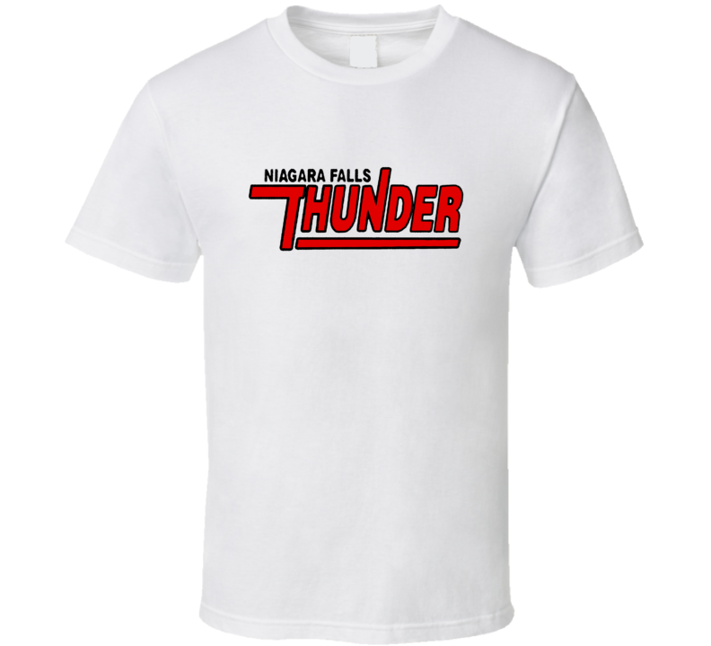 Niagara Falls Thunder Retro Hockey Fan Tshirt