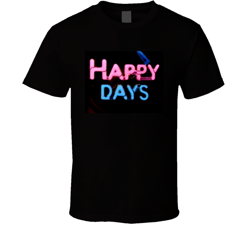 Happy Days Classic TV Show Fan Tshirt