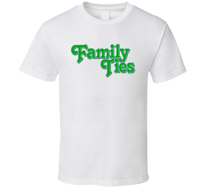Family Ties Classic TV Show Fan Tshirt