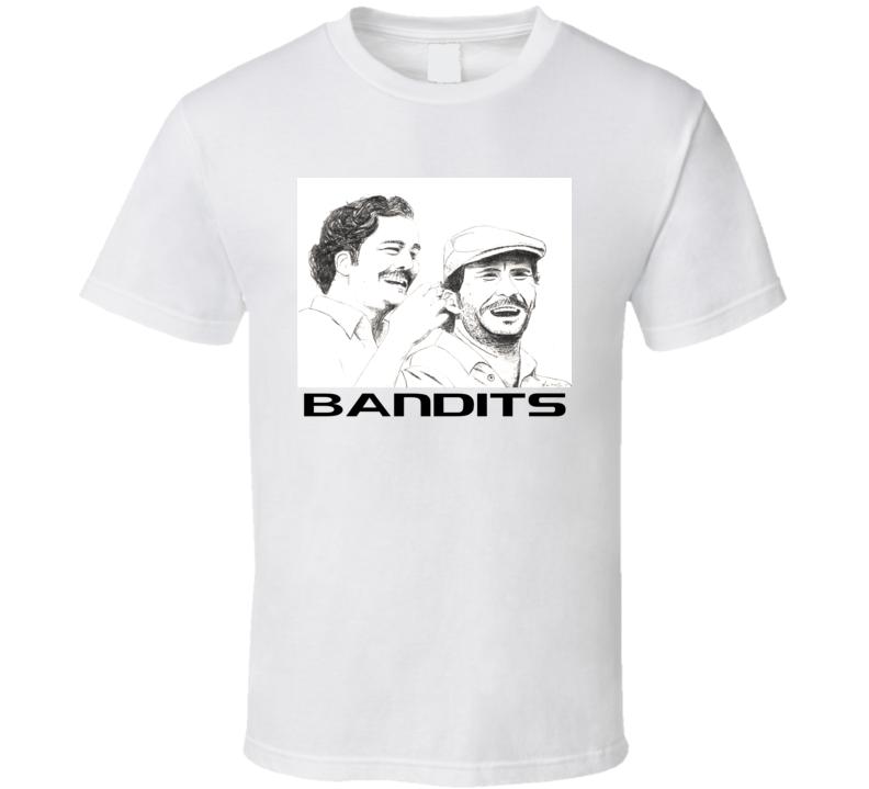 Narcos Inspired Pablo Escobar Gustavo Gaviria Bandits Fan Tshirt