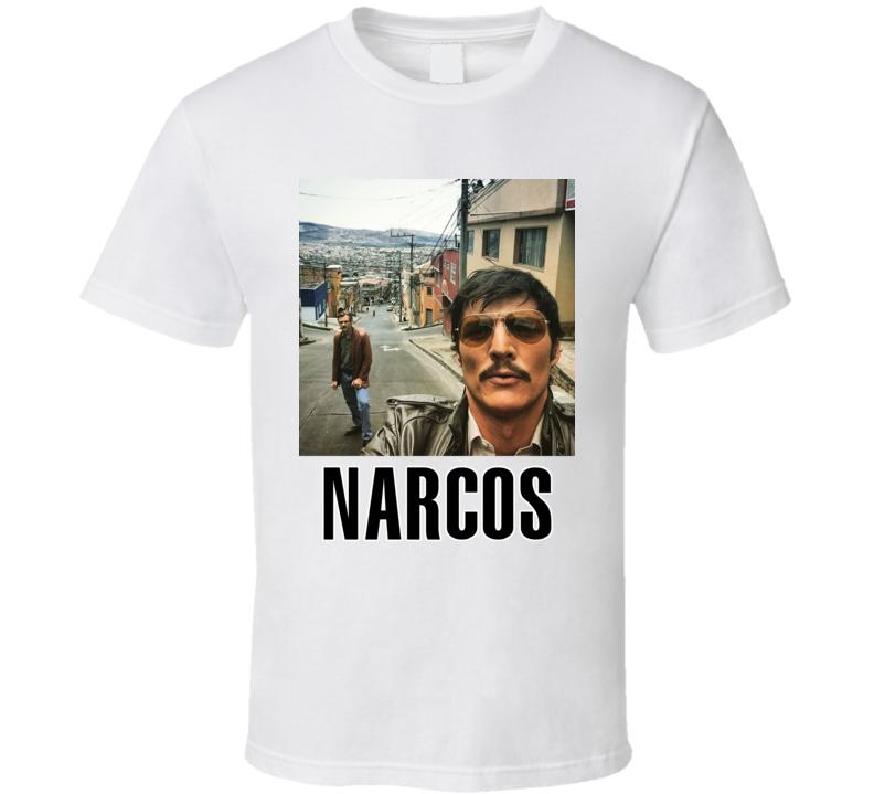 Narcos Inspired Pena Murphy Medellin Fan Tshirt