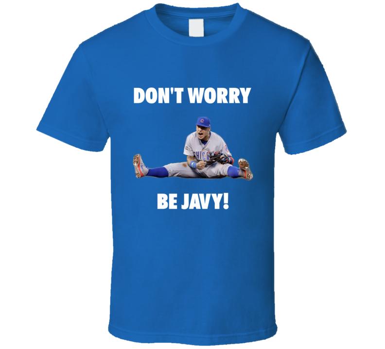 Chicago Cubs Baseball Inspired Javier Baez Fan Tshirt