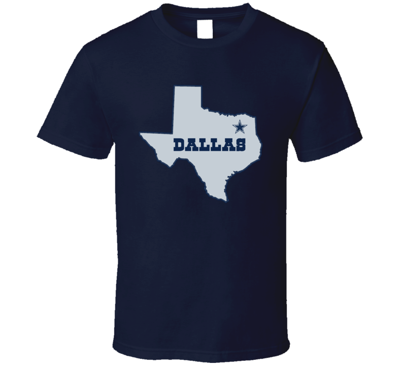 Dallas Football Texas Star State Fan Tshirt