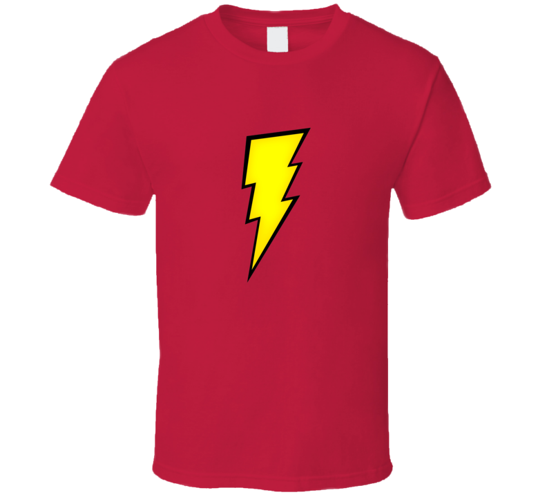 Flash Inspired Comic Book Hero Halloween Tshirt